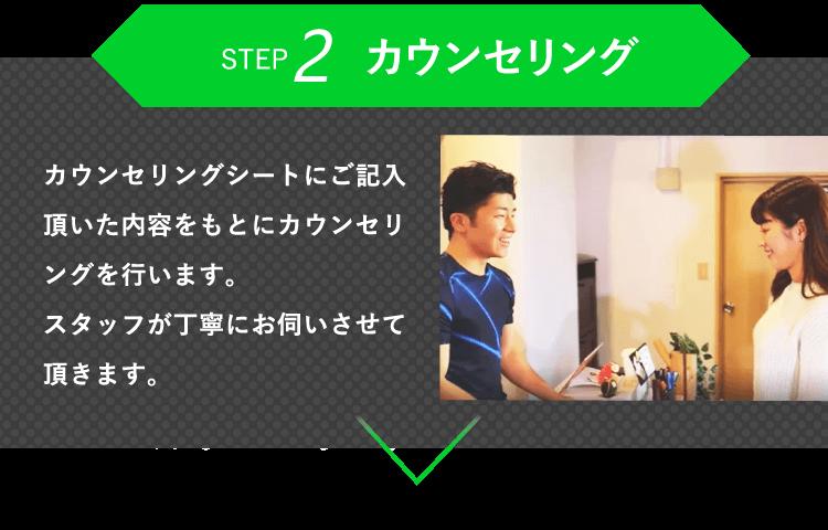 ステップ2 カウンセリング